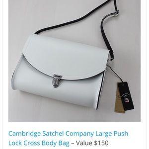 The Cambridge Satchel Co Double Push Crossbody